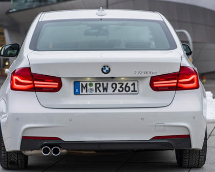 2017 BMW 3 Series 330e iPerformance Sedan Exterior