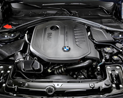 2017 BMW 3 Series 340i Sedan 3.0L V6 Turbo Engine