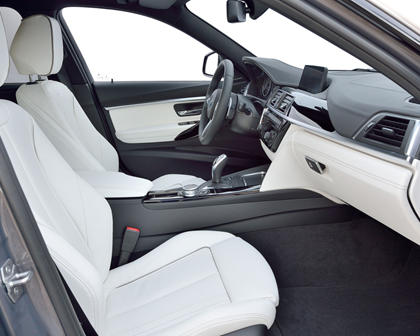 2017 BMW 3 Series 340i Sedan Interior. M Sport Package Shown.