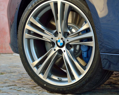 2017 BMW 3 Series 340i Sedan Wheel