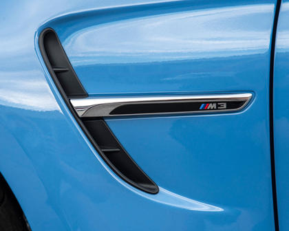 2017 BMW M3 SedanFender Badge