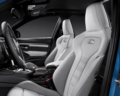 2017 BMW M3 SedanInterior
