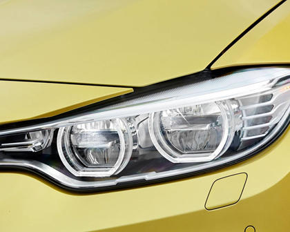 2017 BMW M4 CoupeHeadlamp Detail
