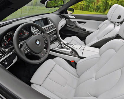 2017 BMW M6 Convertible Interior