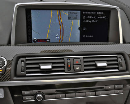2017 BMW M6 Convertible Navigation System