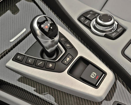2017 BMW M6 Convertible Shifter