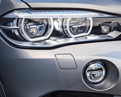 2017 BMW X5 M 4dr SUV Headlamp Detail