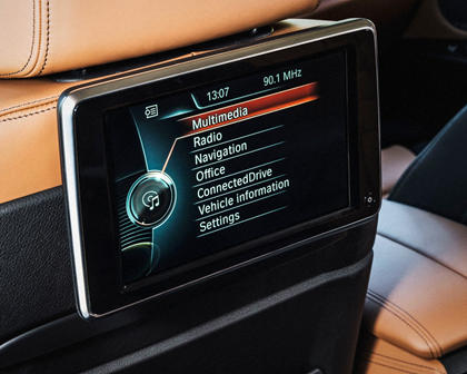 2015-2018 BMW  X6 Infotainment System for Rear Passengers