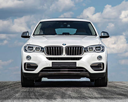 2015-2018 BMW  X6 Front View