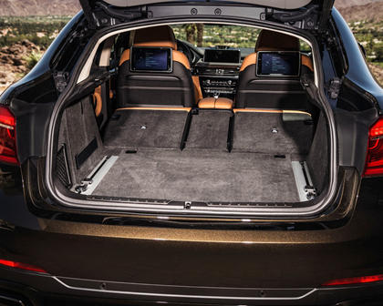 2015-2018 BMW  X6 Luggage Space with Seat Folded