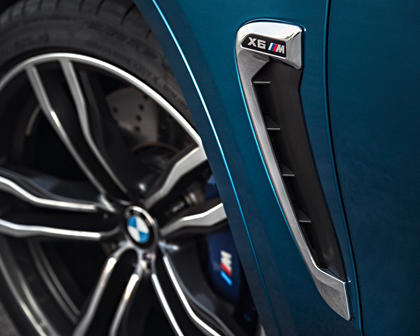 2017 BMW X6 M 4dr SUV Exterior Detail