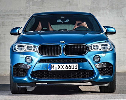 2015-2018 BMW  X6 M Front View