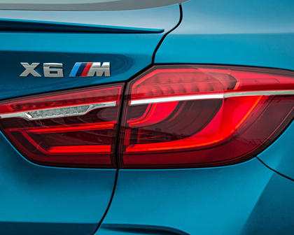 2017 BMW X6 M 4dr SUV Rear Badge