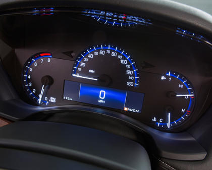 2017 Cadillac ATS Coupe Premium Performance Coupe Gauge Cluster