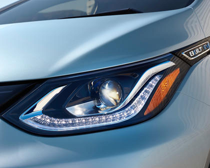 2017 Chevrolet Bolt EV Premier 4dr Hatchback Headlamp Detail