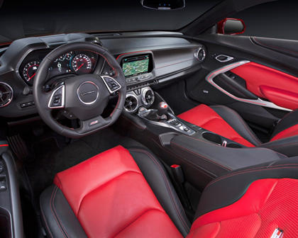2017 Chevrolet Camaro SS w/2SS Coupe Interior Shown