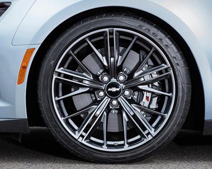 2017 Chevrolet Camaro ZL1 Coupe Wheel