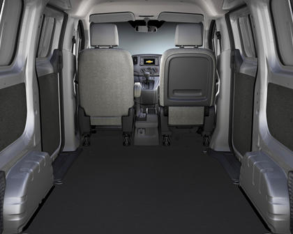 2017 Chevrolet City Express LT Cargo Minivan Cargo Area