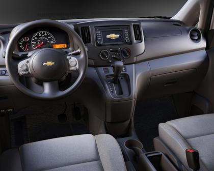 2017 Chevrolet City Express LT Cargo Minivan Dashboard Shown