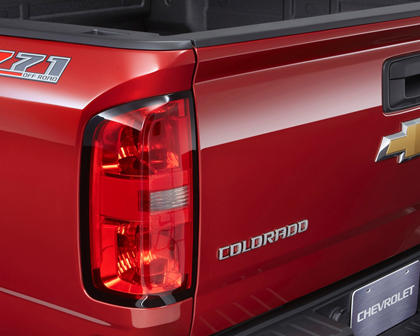 2017 Chevrolet Colorado Z71 Crew Cab Pickup Rear Badge