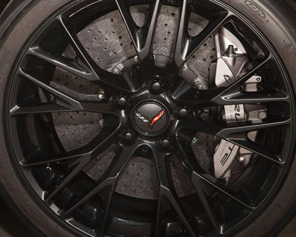 2017 Chevrolet Corvette Z06 w/3LZ Coupe Wheel