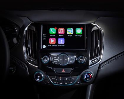 2017 Chevrolet Cruze Premier Sedan Center Console