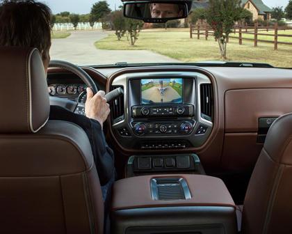 2017 Chevrolet Silverado 1500 High Country Crew Cab Pickup Backup Camera Display