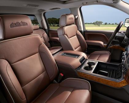 2017 Chevrolet Silverado 1500 High Country Crew Cab Pickup Interior