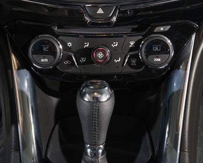 2017 Chevrolet SS Sedan Center Console