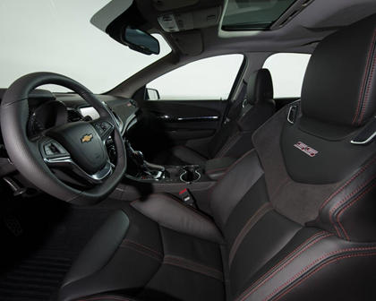 2017 Chevrolet SS Sedan Interior