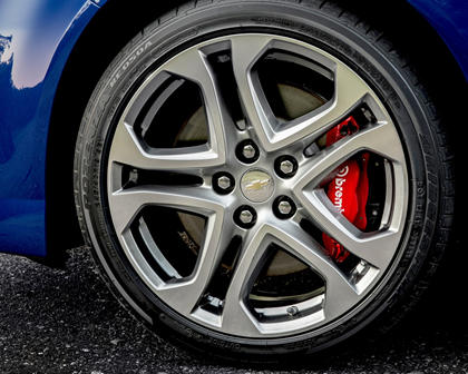 2017 Chevrolet SS Sedan Wheel