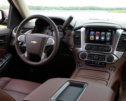 2017 Chevrolet Suburban LT 4dr SUV Interior Shown