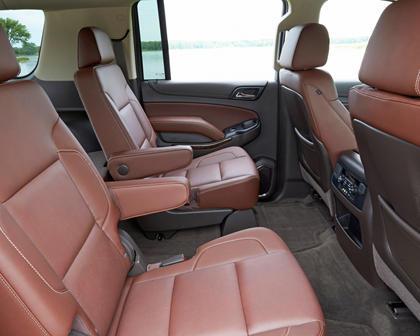 2017 Chevrolet Suburban Premier 4dr SUV Rear Interior