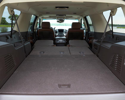 2017 Chevrolet Suburban Premier 4dr SUV Interior