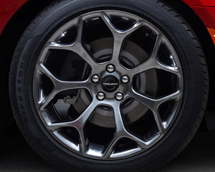 2017 Chrysler 300 S Sedan Wheel