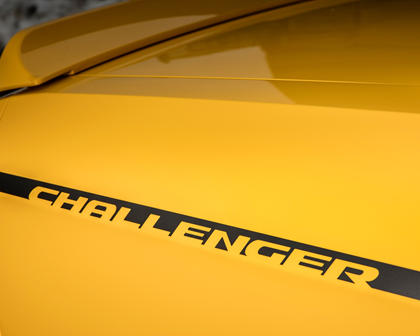 2017 Dodge Challenger GT Coupe Rear Badge