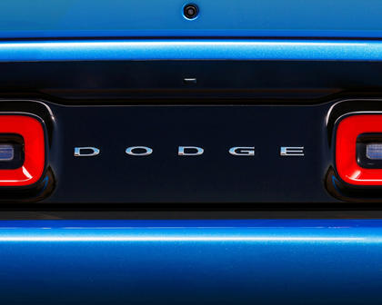 2017 Dodge Challenger SXT Plus Coupe Rear Badge