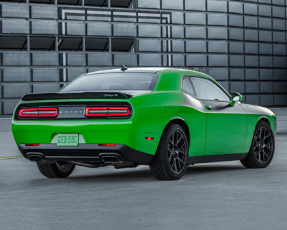 2017 Dodge Challenger Coupe Time Attack Exterior. Options Shown.