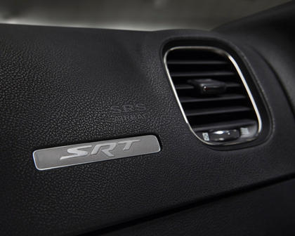2017 Dodge Charger SRT Hellcat Sedan Interior Detail