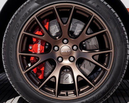 2017 Dodge Charger SRT Hellcat Sedan Wheel