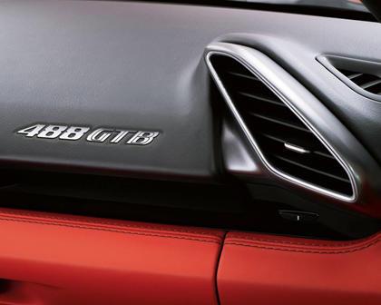 2016 Ferrari 488 GTB CoupeInterior Detail