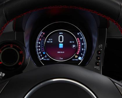 2017 FIAT 500 Abarth 2dr Hatchback Gauge Cluster