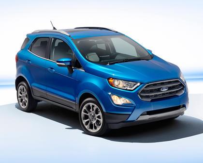 2018 Ford EcoSport Titanium 4dr SUV Exterior Shown