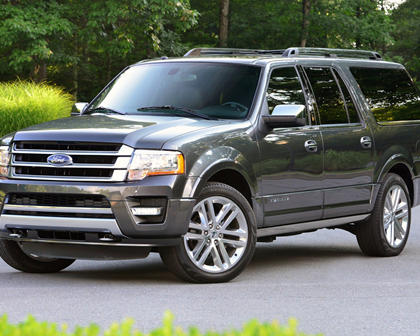 2017 Ford Expedition EL Platinum 4dr SUV Exterior Shown