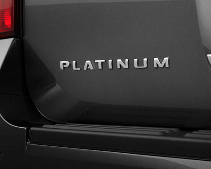 2017 Ford Expedition Platinum 4dr SUV Rear Badge