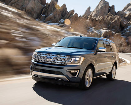2018 Ford Expedition Platinum 4dr SUV Exterior Shown