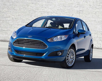 2017 Ford Fiesta Titanium 4dr Hatchback Exterior Shown
