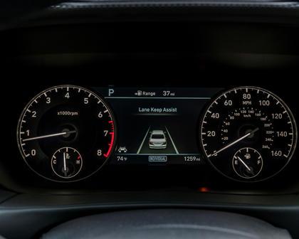 Genesis G90 Premium Sedan Gauge Cluster
