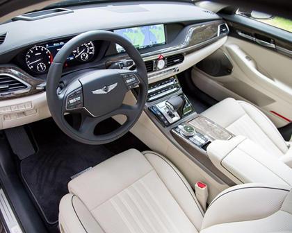 Genesis G90 Premium Sedan Interior