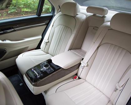 Genesis G90 Premium Sedan Rear Interior